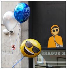 Let's Party (donbyatt) Tags: london shoreditch bricklane urban walls graffiti streetart balloons