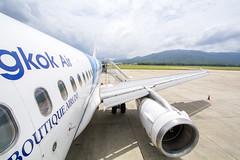 Bangkok Airways HS-PPM Airbus A319 (Kan_Rattaphol) Tags: aircraft airplane airbus airlines a320 a319 a319132 bangkokairways pg hsppm oneworld
