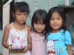 pretty girls (the foreign photographer - ฝรั่งถ่) Tags: sep202014nikon three pretty girls children khlong lard phrao bangkhen bangkok thailand nikon d3200
