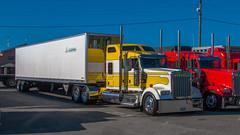 Kenworth W900 (NoVa Truck & Transport Photos) Tags: kenworth w900 lanita specialized mt aetna pa allentech box trailer