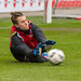 Sven Müller bei Torwartparade im Training