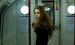 'Paula Agnes' (AndrewPaul_@Oxford) Tags: paula agnes london underground train tube subway carriage street environmental portrait