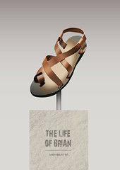 The Life of Brian (Movie Poster Boy) Tags: thelifeofbrian thelifeofbrianmovie thelifeofbrianfilm thelifeofbrianposter thelifeofbrianillustration lifeofbrian life brian montypython monty python montypythons johncleese michaelpalin ericidle terryjones terrygilliam grahamchapman jesus nazareth sandal plinth comedy film movie illustration humour humor fun funny briancohen holygrail holy grail hesnotthemessiah hesaverynaughtyboy naughtyboy naughty boy alternativemovieposter nudity naked