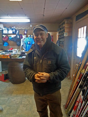 Bob at Sylvania Outfitters (M.R.Kirk) Tags: sylvania outfittersskiingskixc ski watersmeet up