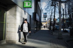 Marching On. Windsor, ON. (Paul Thibodeau) Tags: photooftheday windsor fujifilmx100f streetphotography colour downtown