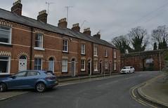 Chester 010319_DSC3177 (Leslie Platt) Tags: exposureadjusted straightened cheshirewestchester chester thewallsofchester watertowerstreet canningstreet