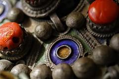 Jewellery (juliaturnau) Tags: tribes traditional handmade beautiful stones ancient algeria jewelry macromondays