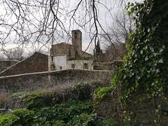 Torre campanario de Iglesia de la Asuncion de Granadilla Caceres 01 (Rafael Gomez - http://micamara.es) Tags: torre campanario de iglesia la asuncion granadilla caceres