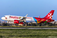 Air Malta Airbus A320-251N  |  9H-NEO  |  LMML (Melvin Debono) Tags: neo air malta airbus a320251n | 9hneo lmml cn 7875 nickelodeon livery new left sharklet melvin debono spotting canon 5d mark iv 100400mm plane planes photography airport airplane aviation aircraft