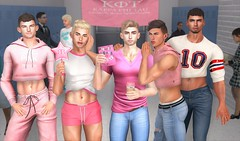 Mean Gays (EnviouSLAY) Tags: meangirls mean girls gays meangays lgbt gay pink