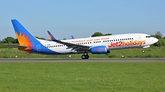 G-JZHN (AnDyMHoLdEn) Tags: jet2 737 egcc airport manchester manchesterairport 23l