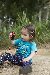 does it still work? (louisa_catlover) Tags: portrait child family toddler daughter tabby tabitha outdoor garden park nature karwarra dandenongs
