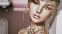 Isabella (VeraCruza) Tags: dselles ysoral catwa applier skin secondlife jewel necklace freckles portrait