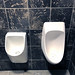 Urinals .... as different as his guests