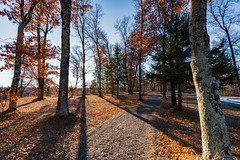 Hiking Trail on the St. Croix River, Minnesota (Tony Webster) Tags: minnesota riverfront saintcroixriver saintcroixstatepark stcroixriver stcroixstatepark campground hike hiking hikingtrail paved river trail winter crosbytownship unitedstates us