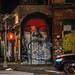 Graffiti at Night - NYC
