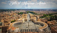 Happy New Year 2019 - Belle et Heureuse Année 2019 (5) (Cloudwhisperer67) Tags: place saint pierre st pier san pietro vatican rome roma italy italia italie happy new year 2018 bonne année raphaël wish wishes best wonderful merry fest great amazing superbe an cloudwhisperer67 paris louvre pyramide pyramid golden france light lit night by dawn aurore canon 760d have happynewyear2018 happyneweve happynew happynewyear photography photo joyful love lovely sky ciel blue violet yellow orange colors color colorful sunset sunrise city cityscape 2019 happynewyear2019 hny2019 bonneannée2019