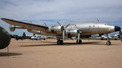 Lockheed 749-79-36 VC-121A Constellation 48-0614 in Tucson (J.Comstedt) Tags: aircraft flight aviation air aeroplane museum airplane us usa planes pima space tucson az johnny comstedt lockheed 749 c141 vc121 usaf 480614 constellation columbine
