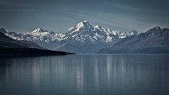 Summer time at Mt Cook (www.cornelia-schulz-photography.com) Tags: mtcook summer summertime lakepukaki reflections southisland water lake sunny newzealand