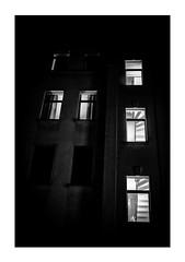Berlin backyard windows at night (Armin Fuchs) Tags: arminfuchs berlin backyard kreuzberg windows night niftyfifty stairway house