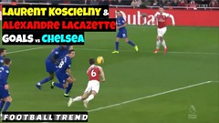 Alexandre Lacazette & Laurent Koscielny goals help Arsenal win London Derby against Chelsea #ARSCHE (triettan.tran) Tags: alexandre lacazette laurent koscielny goals help arsenal win london derby against chelsea arsche