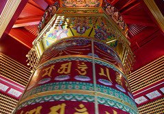 Spinning Prayer Wheel | Singapore (Paul Tocatlian | Happy Planet) Tags: buddhisttemple buddhist temple singapore asiafavorites happyplanet building