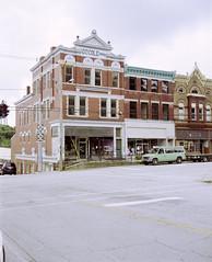 Cole Building, Carlisle, Nicholas County, Kentucky (nikolaijan) Tags: plaubelmakina 67 fuji 120 film kentucky usa southeast carlisle iso100 expired