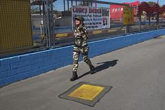 Soldier - Coney Beach (kevin Akerman) Tags: soldier woman porthcawl elvis festival coney beach