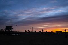 Venice Sunlight (Fabdub) Tags: venicebeach waterfront beach sunset sunlight losangeles usa californie california leicaq leica