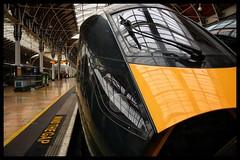 8000xx (Lewis_Hurley) Tags: bimode passenger yellow green railway train england uk london station paddington hitachi greatwesternmainline gwml greatwesternrailway intercityexpress iet gwr class800 800
