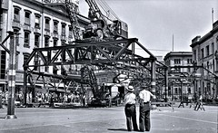 Fulton Street El, Brooklyn, June 24, 1941. (over 21 MILLION views Thanks) Tags: elevated railway el brooklyn newyorkcity 1941