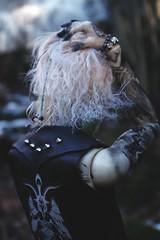 Travel in the woods 5 (Nattmaran) Tags: bjd doll black metal varg blond simply divine thomas loongsoul