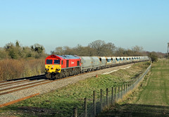 59203 Hungerford Common (CD Sansome) Tags: 59203 db cargo schenker hungerford common mendip rail 6v18 allington whatley quarry