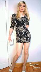 Frosted Flowers (jessicajane9) Tags: tg crossdresser tgurl feminised tranny crossdress tv xdress m2f trans feminization transgender crossdressing travesti cd femme transvestite dress tgirl