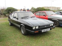 Ford Capri 3.0S EOD825T (Andrew 2.8i) Tags: show classic cars car mare super weston classics westonsupermare german fordofgermany v6 essex 3000 sports sportscar hotohatch hatchback coupe s 3000s 30s 30 mark 3 iii mk mk3 capri ford