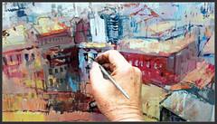 MANRESA-CASTELL-PINTURA-PANORAMICA-CASES-PLASTICA-ART-FOTOS-PINTANT-QUADRES-PAISATGES-PINTOR-ERNEST DESCALS (Ernest Descals) Tags: manresa panoramica castell puigterrà montaña turó pintando pintant pintar panoramicas panoramiques cuadros cuadro fotos paint pictures plastica plasticos pintura pintures pinturas painting paintings detallar detalle detall detail pincel brush trabajo work art arte artwork barcelona catalunya catalonia cataluña cases casas edificis edificios conjugar conjunto paisatge paisatges paisaje paisajes paisajistas paisatgistes pintors pintor pintores painters painter ventanas sensaciones casa ruinas castillo arquitectura ernestdescals sombras ciutat ciudad ciudades city cities artistes plastics artistas altura ejercicios