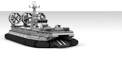 Lego ZUBR Class LCAC (DarthDesigner) Tags: ldd moc builds instructions bricks brick mocs legodigitaldesigner starwars oninemesis thedarthdesigner tdd military lego digitaldesigner darth zubr hovercraft russia
