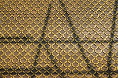 temple roof (ro_ha_becker) Tags: fujix100 temple templeroof roof gold shadow bangkok watratnada architecture minimalarchitecture minimal