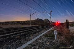 Trail 438 (Antonio Esteve) Tags: nocturna trenes agost 2019 ferrocarril alicante provinciadealicante españa es