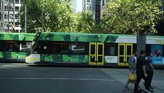 Light rail in Melbourne (spelio) Tags: australia tasmania tassie tasi jan 2019 travel edit tas1901 vic melbourne hotels transport