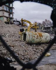 Edgewater Hyperbaric Chamber (JoshTinoco) Tags: chicago edgewater hospital abandoned decay demolition ruins chamber