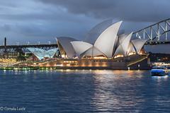 Sydney Opera House and Harbour Bridge - Sydney/Australia (Conny242) Tags: sydney newsouthwales australien au