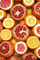 Breakfast citrus close up - Credit to https://homegets.com/ (davidstewartgets) Tags: breakfast citrus closeup color confection delicious diet food fresh freshness fruit grain grapefruit health healthy juice juicy lemon market morning nutritious orange pomegranate red refreshment sales sell sour sweet tropical vitamin yellow