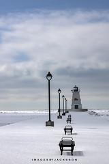 Port Maitland Ontario 2019 (John Hoadley) Tags: pier lighthouse lampposts winter portmaitland ontario 2019 february canon 7dmarkii 100400ii f10 iso100