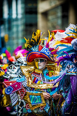 Mummer With the Banjo. (Igor Danilov Philadelphia) Tags: mummers mummer banlo string colors first day 2019 new year celebration eyes contact philadelphia streets parade stringband mummersparade2019