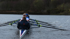 IMG_0567 (NUBCBlueStar) Tags: rowing remo rudern river aviron february march star university sunrise boat blue nubc sculling newcastle london canottaggio tyne hudson thames sweep eight pair