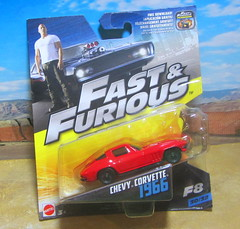Fast & Furious Filmmaker F8 Chevy Corvette 1966 By Mattel 2016 - 1 Of 2 (Kelvin64) Tags: fast furious filmmaker f8 chevy corvette 1966 by mattel 2016