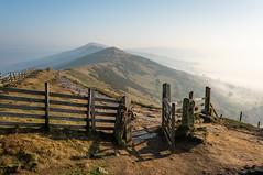 That Gate (Rob Pitt) Tags: peak district gate ridge mist haze fog sony a7rii cheshire