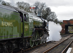 Tornado at Wansford (simmonsphotography) Tags: railway railroad nenevalley heritage preservation locomotive engine train steam uksteam 60163 tornado peppercorn a1 lner pacific newbuild wansford