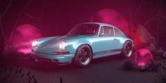 Porsche 911 by Singer (BayanAsghar) Tags: porsche 911 singer automotive car render challenge coronarenderer 3dsmax studio